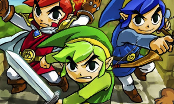 Super Mario Maker : le costume des Link de Zelda Tri-Force Heroes dans le jeu