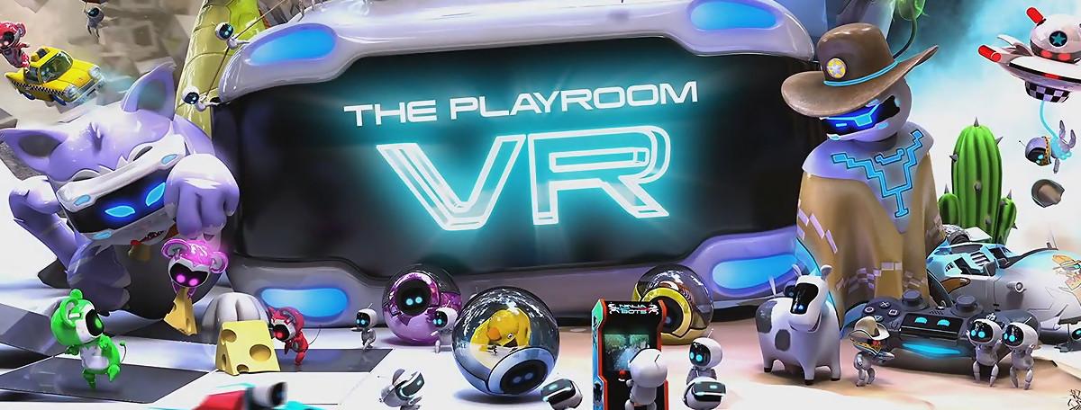 The PlayRoom VR sur PS4 PSVR