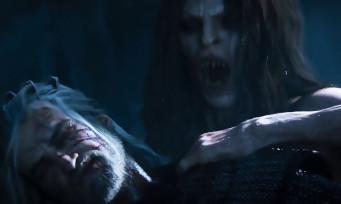 The Witcher 3 : un trailer sublime d'un combat entre Geralt et une vampire