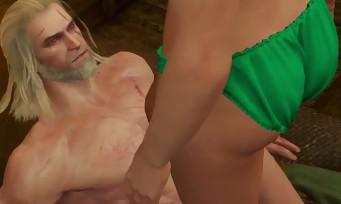 The Witcher 3 : une scène de sexe motion-capturée, ça ressemble à ça !