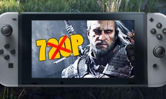 The Witcher 3 : la version Switch annonce ses résolutions d'affichage, ça fait un peu pitié