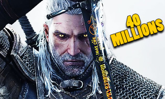The Witcher : 40 millions de ventes dont la moitié pour The Witcher 3