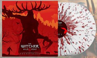 The Witcher 3 : un quadruple vinyle blanc maculé de sang pour la bande-son