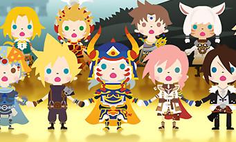 Theatrhythm Final Fantasy : bientôt avec d'autres séries