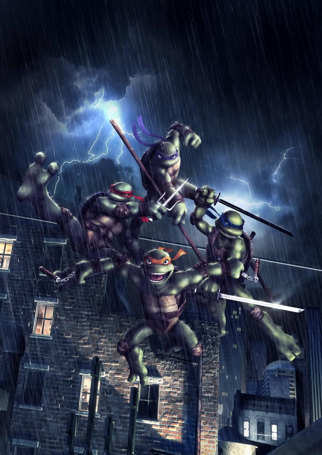 Tmnt la d mo sur pc - Le nom des tortue ninja ...