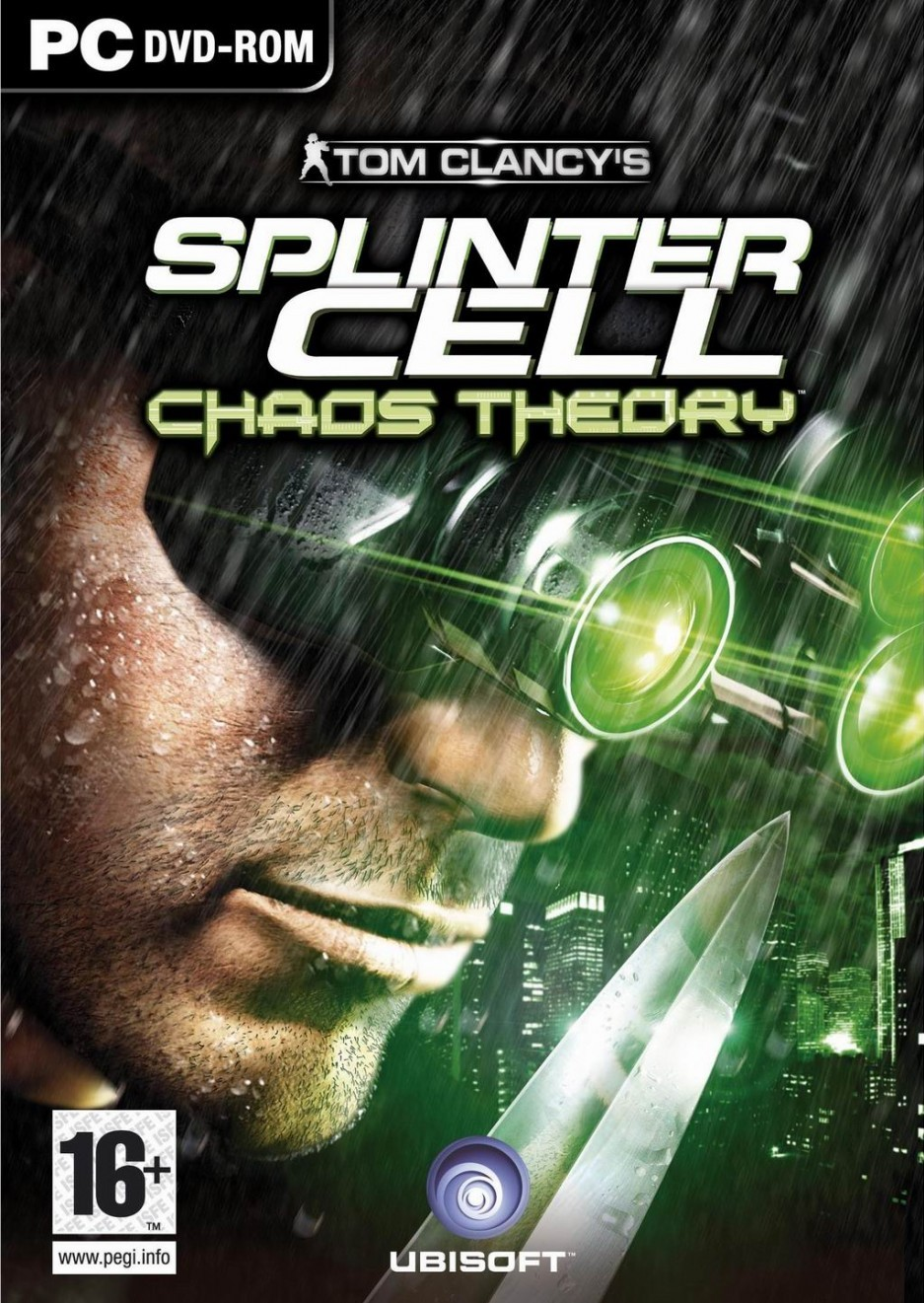 Jaquettes Tom Clancy S Splinter Cell Chaos Theory