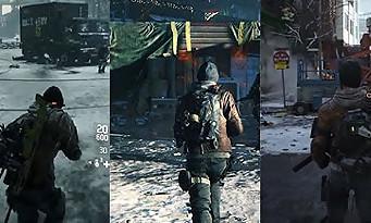 The Division : le violent downgrade graphique illustré en vidéo