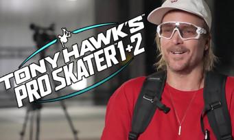 Tony Hawk's Pro Skater 1 + 2 : un trailer avec Chad Muska