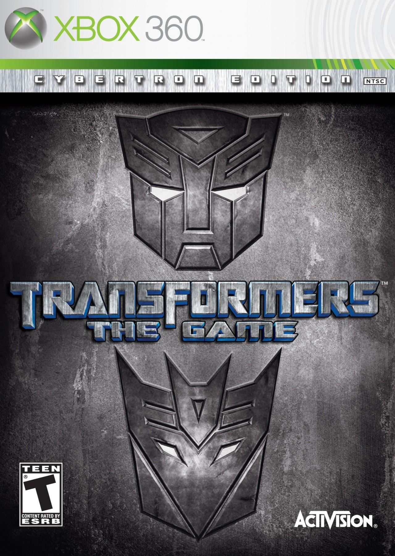 Jaquettes Transformers : Le Jeu
