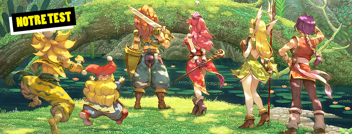 Test Trials of Mana : un remake surtout destiné aux fans
