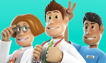 Two Point Hospital : un trailer de gameplay avec des aliens