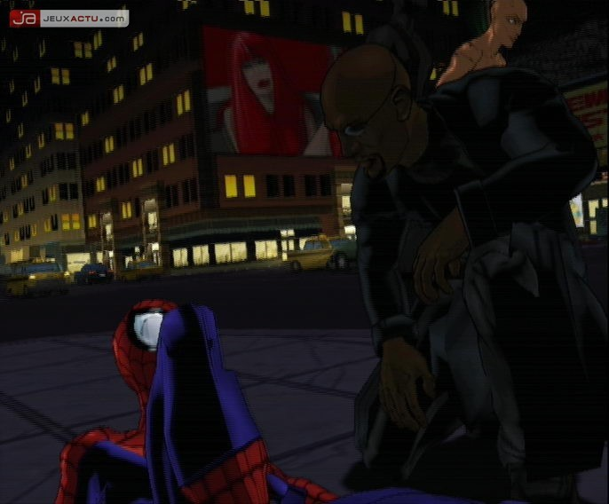 Ultimate spider man jeu