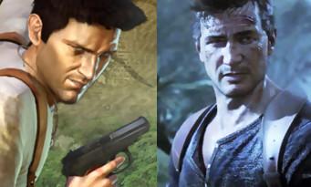 Uncharted 1 vs Uncharted 4 : l'évolution graphique en une vidéo