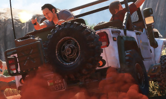 Uncharted 4 : 16 minutes de gameplay avec jeep, escalade et gunfights