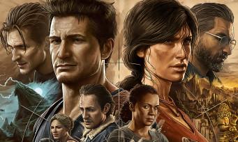Uncharted 4 et The Lost Legacy arrivent sur PC et PS5 dans une compilation