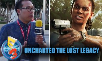 Uncharted The Lost Legacy : la même chose avec des filles ?