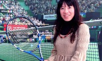 Interview Mie Kumagai pour Virtua Tennis 4