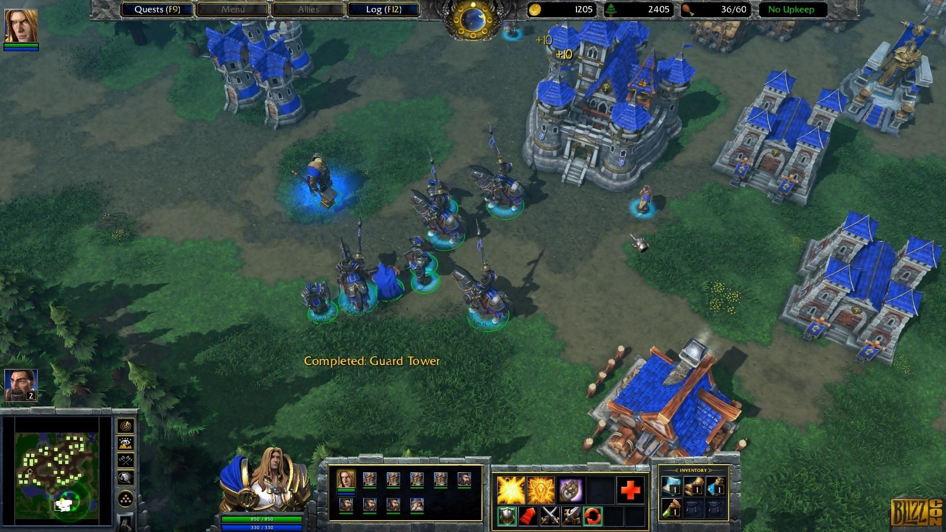 Warcraft III: Reign of Chaos. Le jeu de stratégie en temps réel par excellence.