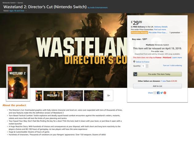 Wasteland 2 : Director s Cut