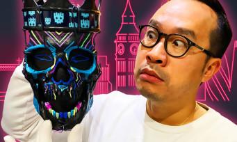 Watch Dogs Legion : notre unboxing en 4K du collector avec le masque-couronne