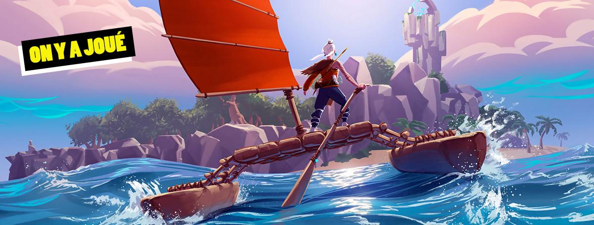 Windbound : on a joué au jeu de survie inspiré de Zelda Wind Waker, notre avis