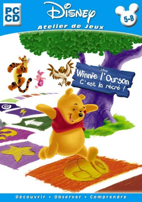 Jaquettes winnie l 39 ourson c 39 est la r cr - Pochoir winnie l ourson ...