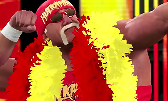 WWE 2K15 : un trailer plein de sueur et de testostérone