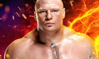 WWE 2K17 : Brock Lesnar est la star sur la jaquette