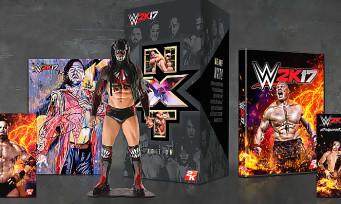 WWE 2K17 : tout ce qu'il faut savoir sur l'édition collector NXT