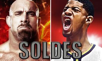 NBA 2K17 / WWE 2K17 : les deux jeux baissent de prix sur PS4