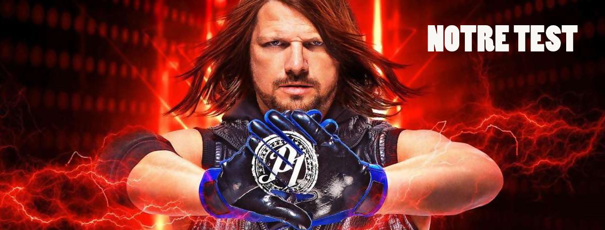 Test WWE 2K19 : un jeu complet mais qui tire trop sur la corde