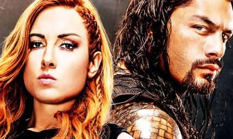 WWE 2K20 : Becky Lynch et Roman Reign sur la jaquette !