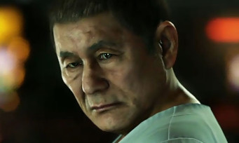 Yakuza 6 : la toute première vidéo avec Takeshi Kitano !