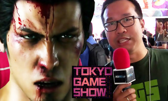 Yakuza 6 : on y a joué au Tokyo Game Show et c'était vraiment chaud