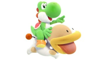Yoshi's Crafted World : un trailer de gameplay très coloré