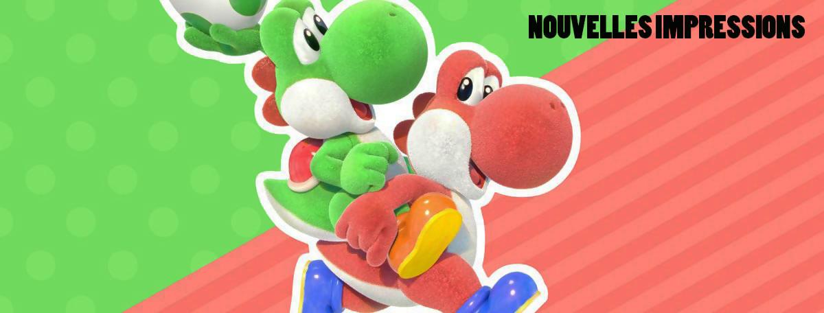 Yoshi's Crafted World : en carton mais tout mignon, voici nos impressions