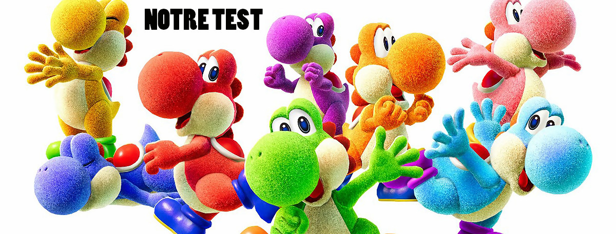 Test Yoshi's Crafted World : du carton fait-maison tout mignon !