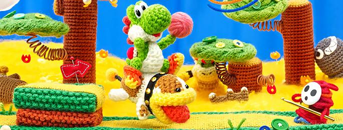 Test Yoshi's Woolly World sur Wii U